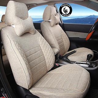 Pegasus Premium Jute Car Seat cover Grey For Renault Duster