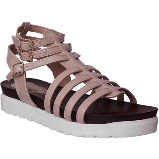 Flora Cream Footbed Sandal For Women