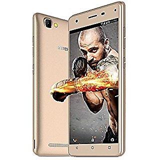 Intex Power 4  (1 GB, 16 GB, Gold)