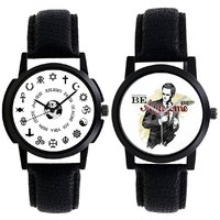 A R Sales Combo Of 2 Analog Watch For Mens And Boys