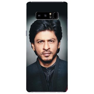 Samsung Galaxy note 8 Black Hard Printed Case Cover by HACHI - Shah Rukh Khan Fans design