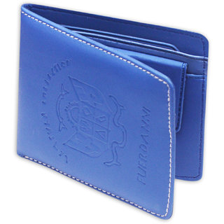 Flash Sales Product Blue Plastic Casual Bi-fold Wallet For Men