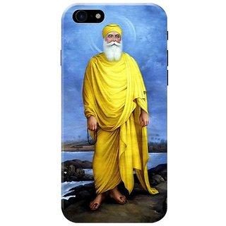 Guru Nanak Dev Ji Mobile Cover for Iphone 8