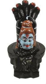 Handmade Lord Shiva Naag Pindi, Shiva Lingam Shiv Ling Idol Murti For home decor gifts antique items pooja accessories-1