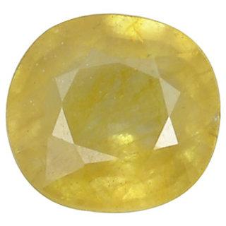 Ratna Gemstone  4.25 Carat Natural Certified Yellow Sapphire (Pukhraj) Gemstone