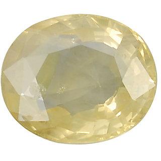 Ratna Gemstone  10.50 Carat Natural Certified Yellow Sapphire (Pukhraj) Gemstone