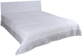 Kalakriti Premium Quilts White color Standard Size