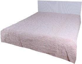 Kalakriti Premium Quilts Light Pink color Standard Size