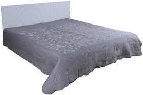 Kalakriti Premium Quilts Gray color in Standard Size