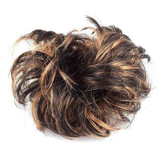 Arya golden brown funky Hair extension