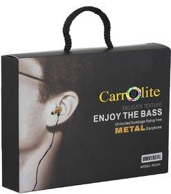Carrollite Black Handsfree For Mobile.