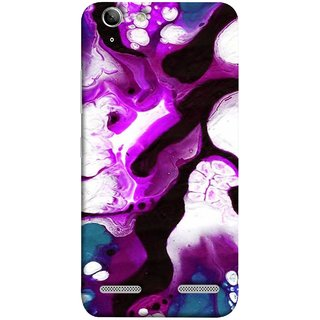 FUSON Designer Back Case Cover for Lenovo Vibe K5 Plus :: Lenovo Vibe K5 Plus A6020a46 :: Lenovo Vibe K5 Plus Lemon 3 (Purple Painting Wallpaper White Iceberg River Flow)