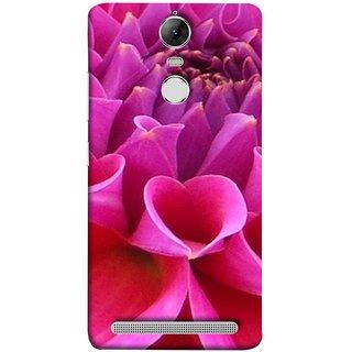 FUSON Designer Back Case Cover for Lenovo K5 Note :: Lenovo Vibe K5 Note Pro (Floral Patterns Shining Dark Red Florals Design Patterns)