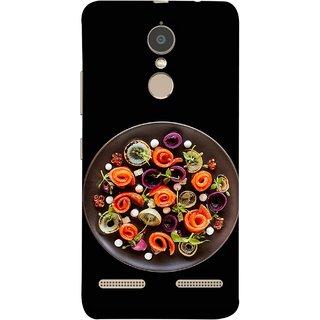 FUSON Designer Back Case Cover for Lenovo K6 (Vegetables Mashrooms Kitchen Best Food Tasty)