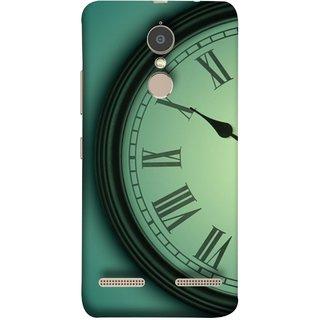 FUSON Designer Back Case Cover for Lenovo K6 (Time Lapse Of Antique Clock Old Wooden Vintage Time)