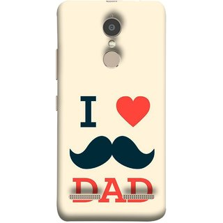 FUSON Designer Back Case Cover for Lenovo K6 (Dad Day Family Mom Life Long Fathers Day)