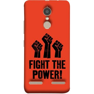 FUSON Designer Back Case Cover for Lenovo K6 (Always Fight For Truth Justice Will Stand Tall In Sky )