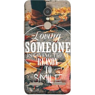 FUSON Designer Back Case Cover for Lenovo K6 (Lovely Bottom Of My Heart Smile Happy Key )