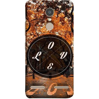 FUSON Designer Back Case Cover for Lenovo K6 (Love Everywhere Stay Long Life Always Road Lovers )