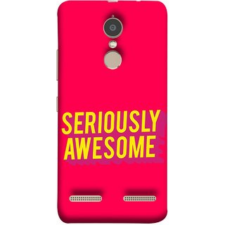 FUSON Designer Back Case Cover for Lenovo K6 (Take Your Dreams Seriously Very Beautiful Best )