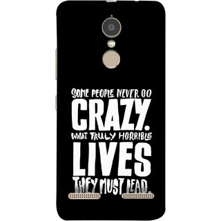 FUSON Designer Back Case Cover for Lenovo K6 (What Truly Horrible Lives They Must Lead)