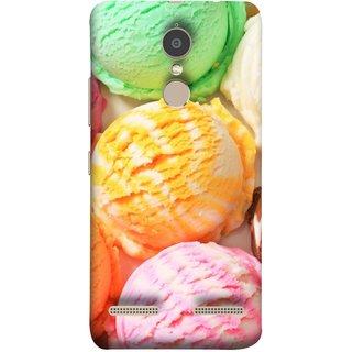 FUSON Designer Back Case Cover for Lenovo K6 (Colourful Ice Cream Berry Cherry Pista Flavours )