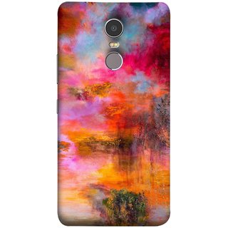 FUSON Designer Back Case Cover for Lenovo K6 Note (Random Painting Rare Beautiful Husain Chitrakar Nice)