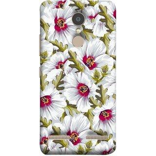 FUSON Designer Back Case Cover for Lenovo K6 (Floral Patterns Digital Textiles Florals Design Patterns)