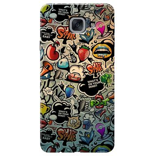 What's On Your Mind Mobile Cover for Samsung J7 Max,on Max