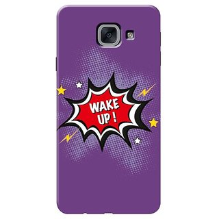 Wake Up Mobile Cover for Samsung J7 Max,on Max
