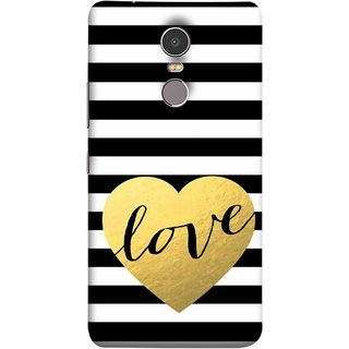 FUSON Designer Back Case Cover for Lenovo K6 Note (Hearts Lovely Girls True Love Dark Font)