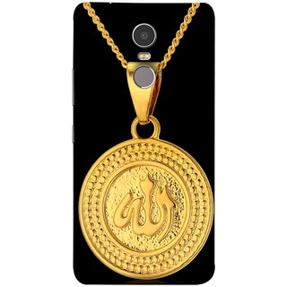 FUSON Designer Back Case Cover for Lenovo K6 Note (Allah Pendant Necklace For Men Middle East Necklaces)