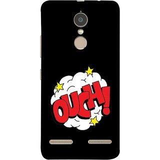 FUSON Designer Back Case Cover for Lenovo K6 (Nice Words Lag Gayi God Bless Ohhh White Cloud Stars )