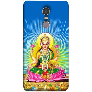 FUSON Designer Back Case Cover for Lenovo K6 Note (Maa Dhan Lakshmi Hindu Parvati Saraswati Shankar)