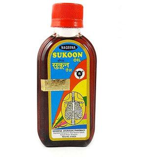 Nageena Pain Relieving Massage Oil Sukoon Tel, 500 ML