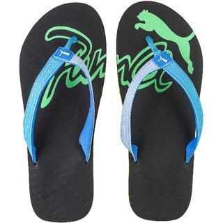 PUMA Men Blue Green Eagle DP Flip-Flops