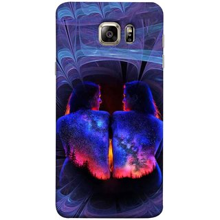 FUSON Designer Back Case Cover for Samsung Galaxy Note 5 :: Samsung Galaxy Note 5 N920G :: Samsung Galaxy Note5 N920T N920A N920I  (Young Beautiful Woman Smiling To Herself In Mirror)
