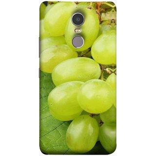 FUSON Designer Back Case Cover for Lenovo K6 Note (Nature Farm Wine Organic Farm Agriculture Autumn )