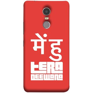 FUSON Designer Back Case Cover for Lenovo K6 Note (I Am Your Big Fan And Will Always In Love Life)