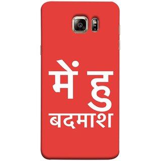 FUSON Designer Back Case Cover for Samsung Galaxy Note 5 :: Samsung Galaxy Note 5 N920G :: Samsung Galaxy Note5 N920T N920A N920I  (I Am Bad And Don Hindi English India Mumbai)