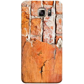 FUSON Designer Back Case Cover for Samsung Galaxy Note 5 :: Samsung Galaxy Note 5 N920G :: Samsung Galaxy Note5 N920T N920A N920I  (Peeling Plaster Bricks White Cement Broken Small Big)