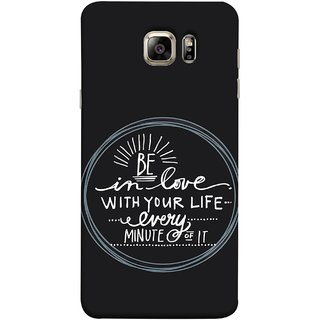 FUSON Designer Back Case Cover for Samsung Galaxy Note 5 :: Samsung Galaxy Note 5 N920G :: Samsung Galaxy Note5 N920T N920A N920I  (Every Minute Of It Always Like Enjoy Happy Cool Relax)