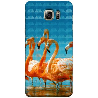 FUSON Designer Back Case Cover for Samsung Galaxy Note 5 :: Samsung Galaxy Note 5 N920G :: Samsung Galaxy Note5 N920T N920A N920I  (Animal Birds Long Beak Beautiful Wallpaper Designs)