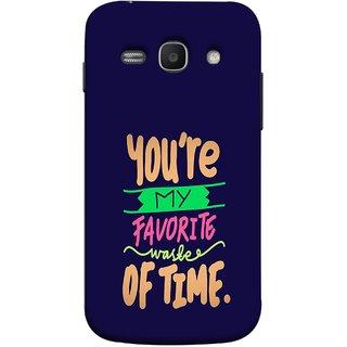 FUSON Designer Back Case Cover for Samsung Galaxy Ace 3 :: Samsung Galaxy Ace 3 S7272 Duos  :: Samsung Galaxy Ace 3 3G S7270 :: Samsung Galaxy Ace 3 Lte S7275 (Blue Background Best Friends Always Together)