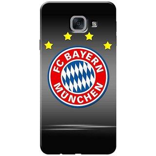 Samsung J7 Max,on Max Black Hard Printed Case Cover by HACHI - Football Club design