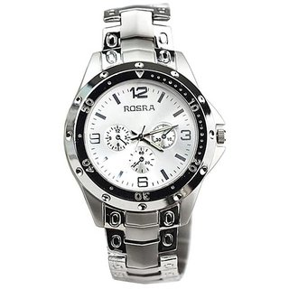 Buy rosra silver stylish rosra watch rosra watches for men online get 0 off for Rosra watches