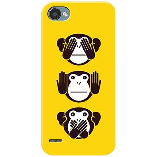 Cool Monkey Mobile Cover for  LG Q6