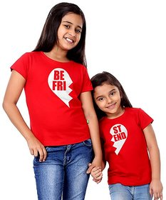 Best friend Tees combo for sisters