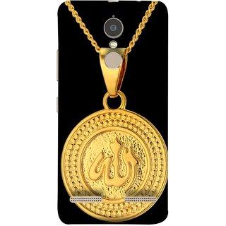 FUSON Designer Back Case Cover for Lenovo K6 Power (Allah Pendant Necklace For Men Middle East Necklaces)