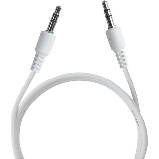 Pinnaclz Aux Cable 1.5m White